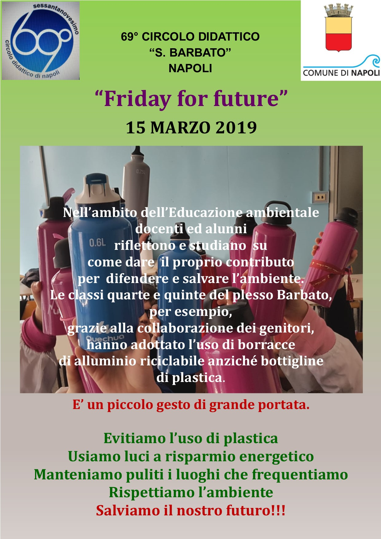 Friday for future 15-3-2019