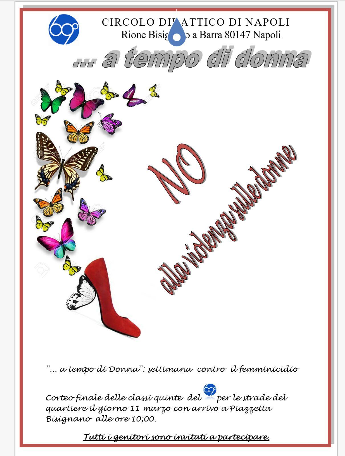Settimana contro il femminicidio